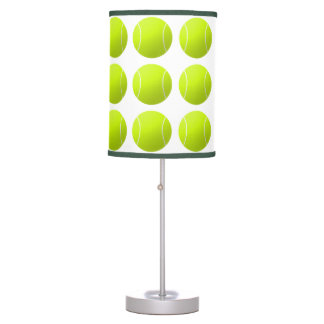 Custom Personalized Tennis Ball Gift Desk Lamps