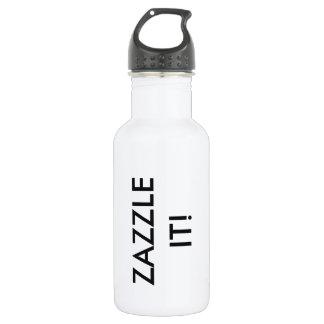 Custom Personalized Water Bottle Blank Template