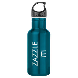 Custom Personalized Water Bottle Blank Template