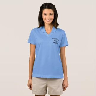 Custom Personalized Women's Nike Polo Shirt Blank