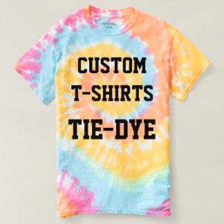 Custom Personalized Women's TIE-DYE T-SHIRT
