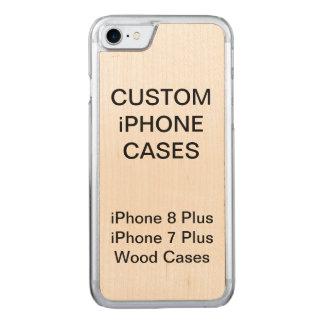 Custom Personalized Wood iPhone 8/7 Plus Case