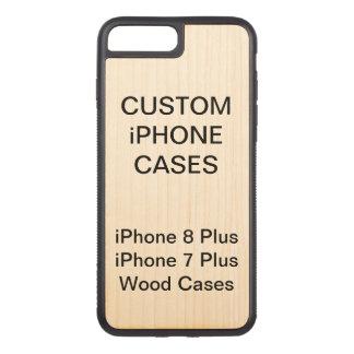 Custom Personalized Wood iPhone 8 Plus 7 Plus Case