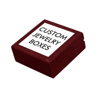 Custom Personalized Wooden Jewelry Box Blank