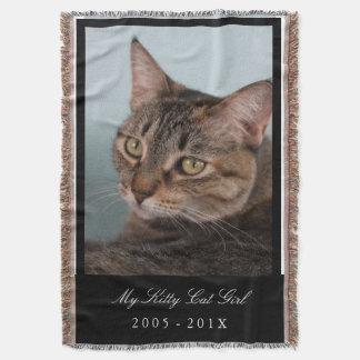 Custom Pet Blanket - Your Pet Memorial Throw Blanket