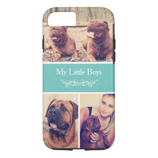 Custom Pet Dog Instagram Photo Collage Case-Mate iPhone Case