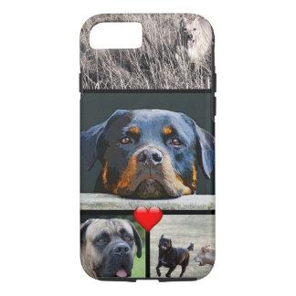 Custom Pet Instagram Photo Collage iPhone 8/7 Case