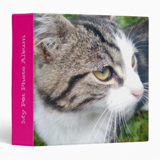 Custom pet photo album | Add your image here Vinyl Binders