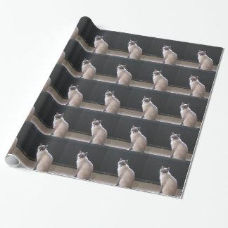 Custom Pet Photo Gift Wrap