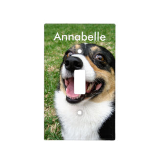 Custom Pet Photo Light Switch Cover