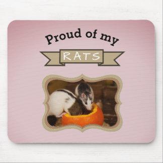Custom Pet Rat Photo Mouse Pad