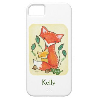 Custom Phone Case Personalized Fox iPhone Case Case For The iPhone 5