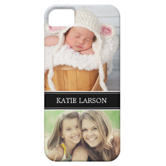 Custom Photo and Monogram Personalized iPhone 5 Covers