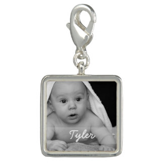 Custom Photo and Name Photo Charm