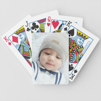 Custom Photo Bicycle Playing Cards