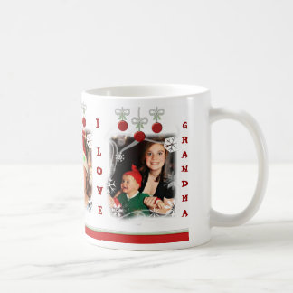 Custom Photo Christmas Grandma Mug