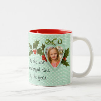 Custom Photo Christmas Mug