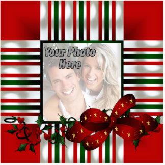 Custom Photo Christmas Ornament Photo Sculpture Ornament