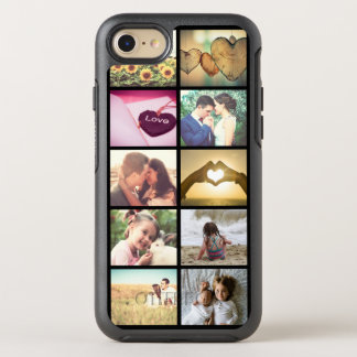 Custom photo collage OtterBox symmetry iPhone 8/7 case