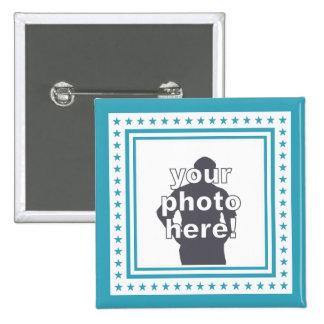 CUSTOM PHOTO & COLOR badge
