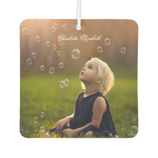 Custom Photo, Cute, Personalized Car Air Freshener
