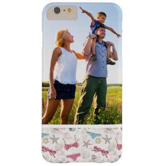 Custom Photo Cute Summer Abstract Pattern Barely There iPhone 6 Plus Case