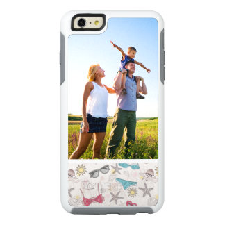 Custom Photo Cute Summer Abstract Pattern OtterBox iPhone 6/6s Plus Case