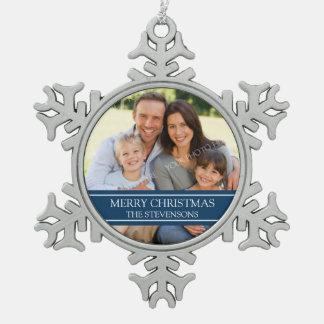 Custom Photo Family Christmas Ornament