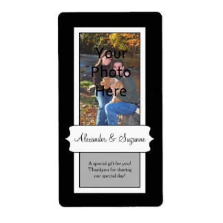 Custom Photo Favour Craft Label Shipping Label
