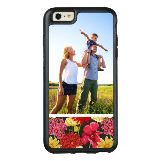 Custom Photo Floral wallpaper in watercolor style OtterBox iPhone 6/6s Plus Case