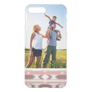 Custom Photo Geometric pattern in aztec style 2 iPhone 7 Plus Case