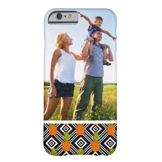 Custom Photo Geometric Pineapples Barely There iPhone 6 Case