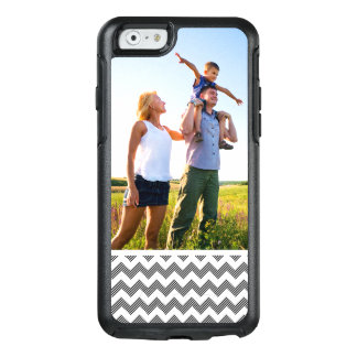 Custom Photo Geometric zigzag pattern OtterBox iPhone 6/6s Case