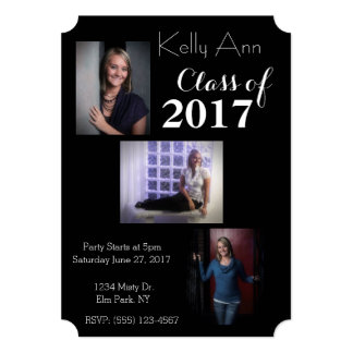 Custom Photo Graduation Party Invitation