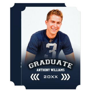 Custom Photo Graduation Party Photo Invitations