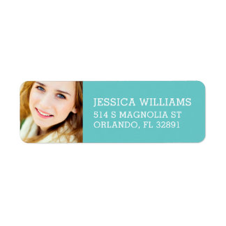 Custom Photo Graduation Return Address