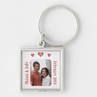 Custom Photo Love Valentine Keychain