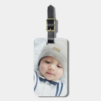 Custom Photo Luggage Tag