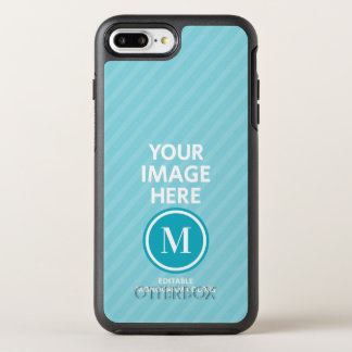 Custom Photo Monogram OtterBox Symmetry iPhone 8 Plus/7 Plus Case