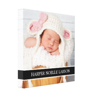 Browse the Baby Canvas Print Collection and personalize by color, design, or style.