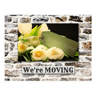 Custom Photo Moving New Address Postcard