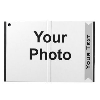 Custom Photo Name Template iPad Air Cover