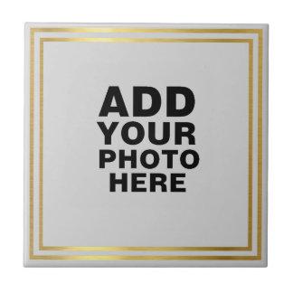 custom photo or artwork tile
