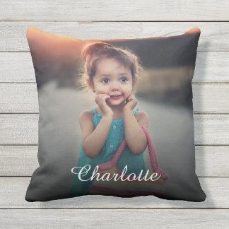 Custom Photo Outdoor Pillow