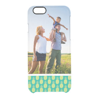 Custom Photo Pastel Pineapples Clear iPhone 6/6S Case