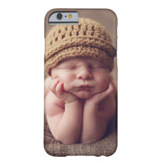 Custom Photo Personalized Barely There iPhone 6 Case