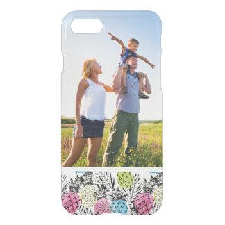 Custom Photo Pineapple Grunge Palms iPhone 7 Case