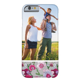 Custom Photo Pink Orchids In Bloom Barely There iPhone 6 Case