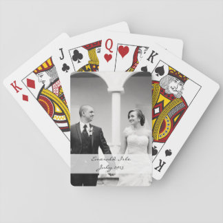 Custom photo playing cards - personalize