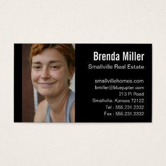 business cards real estate